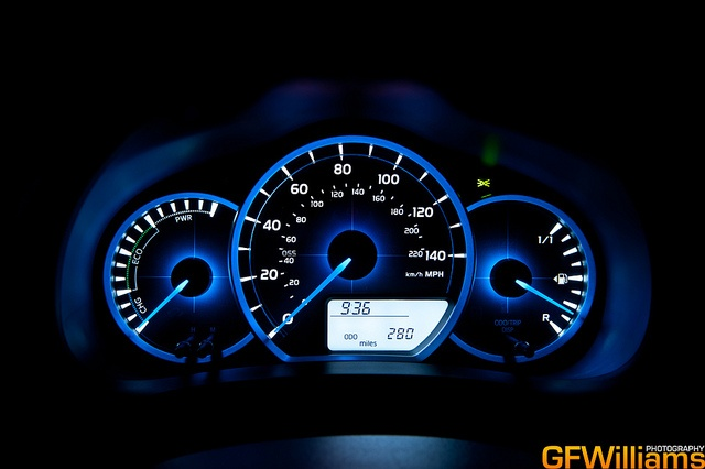 Toyota Yaris Hybrid by GFWilliams.net Automotive Photography, via Flickr
