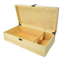 Dřevěný box na víno č. WK 216590/2