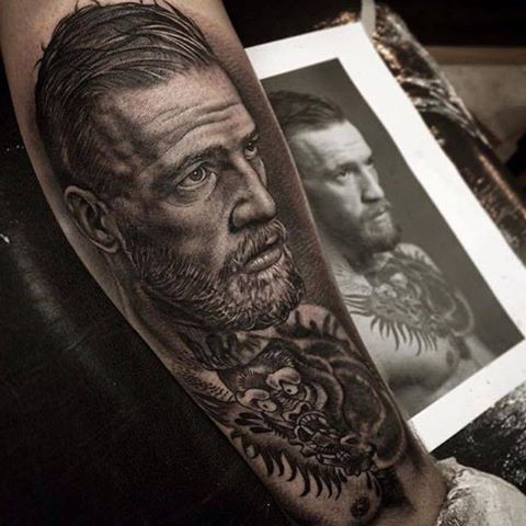 BADASS Conor McGregor TATTOO : if you love #MMA, you'll love the #UFC & #MixedMartialArts inspired fashion at CageCult: http://cagecult.com/mma