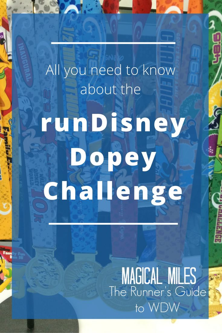 Everything you need to know about the runDisney Dopey Challenge