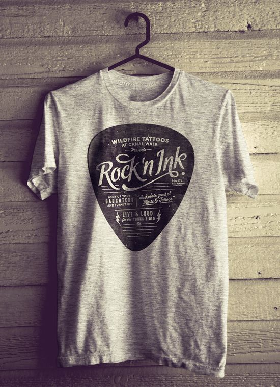 Rock n Ink - Velcro Suit - The Graphic Design and Illustration of Adam Hill #tees #rock #kysa