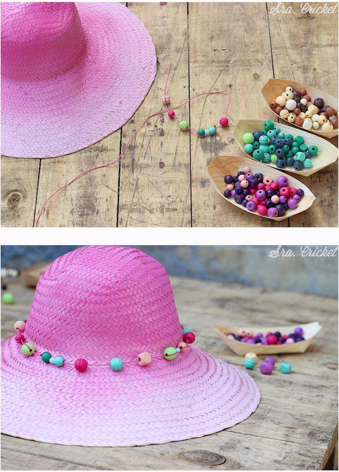 sombrero pintado con spray