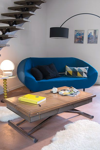 "Grange convertible Coffee Table - Manhattan Collection 130 cm L x 72 cm D x 42 cm H (51"" L x 28"" D x 16.5"" H)"
