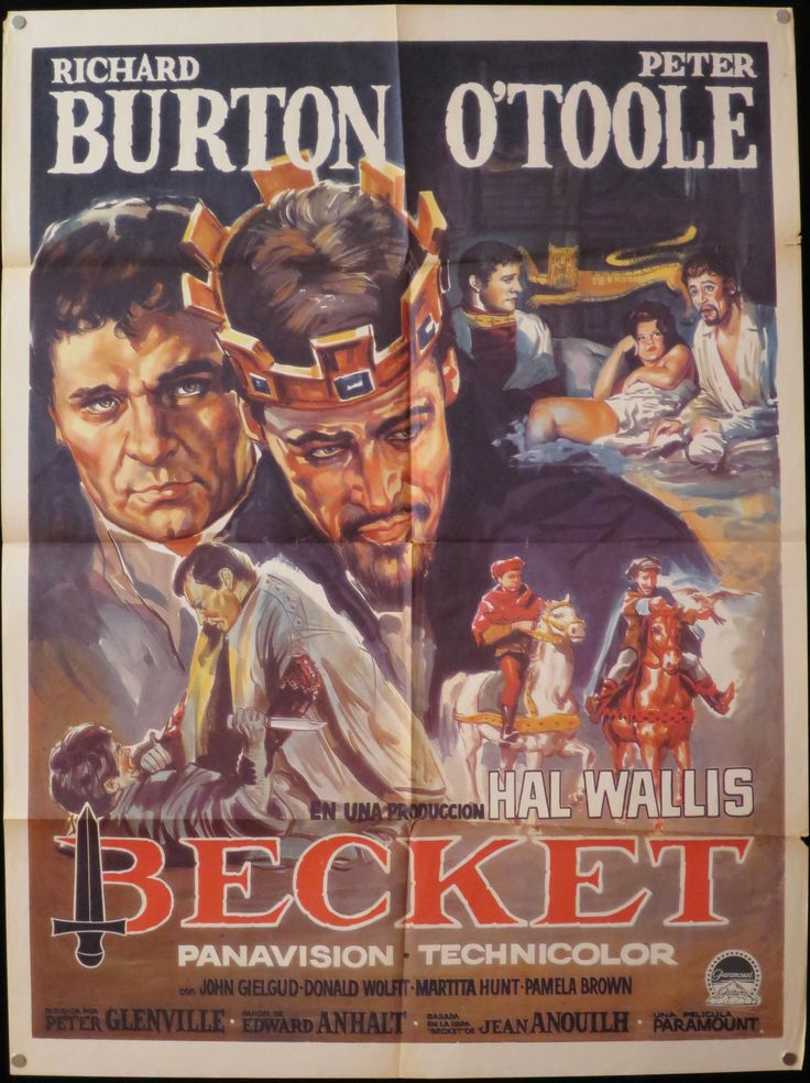 """1964's """"Becket"""" is the story of King Henry II's (Peter O"""
