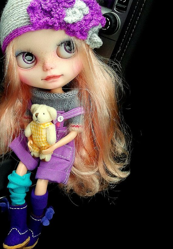 Russell OOAK Blythe Custom doll  Art Doll by KassandraBox on Etsy