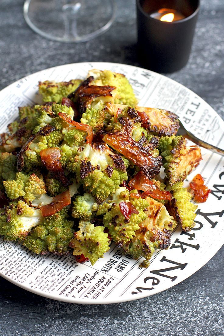 Roasted romanesco with honey-Sriracha glaze is right for so many reasons: It's fast, flavorful and healthy. So give the recipe a go!