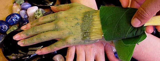 Ya'ax Tun: Mayan Jade Algae is Yaxkin Spa's Ultimate Skin Nourishing Art.  Yaxkin Spa, Mexico's Best Maya Eco-Spa Holistic Wellness Destination is located within the lush tropical gardens of the Hacienda Chichen Resort in Chichen Itza, Yucatan, Mexico.