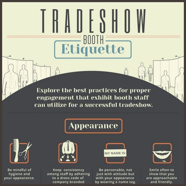 Trade Show Booth Etiquette : Trade show booth etiquette avoid