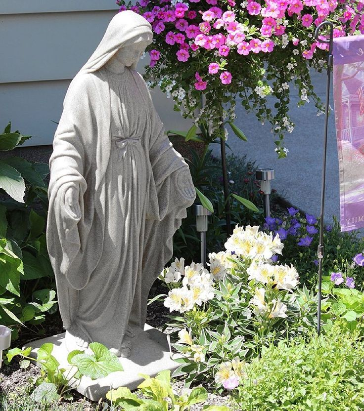 218 best Mary mother of jesus images on Pinterest Garden statues