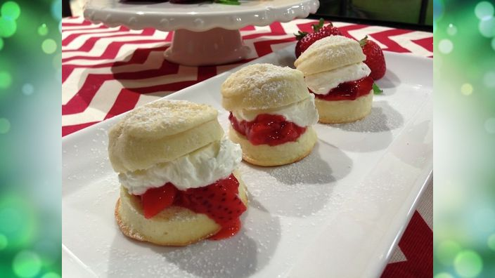 Studio 5 - Strawberry Shortcake Sliders | Sweet Tooth | Pinterest