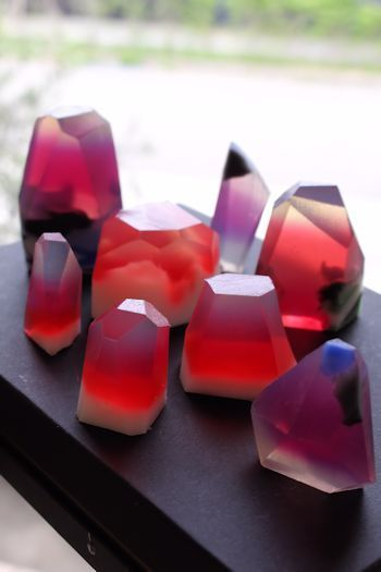 透明石けんで 宝石石けん|新潟 手作り石鹸の作り方教室 アロマセラピーのやさしい時間