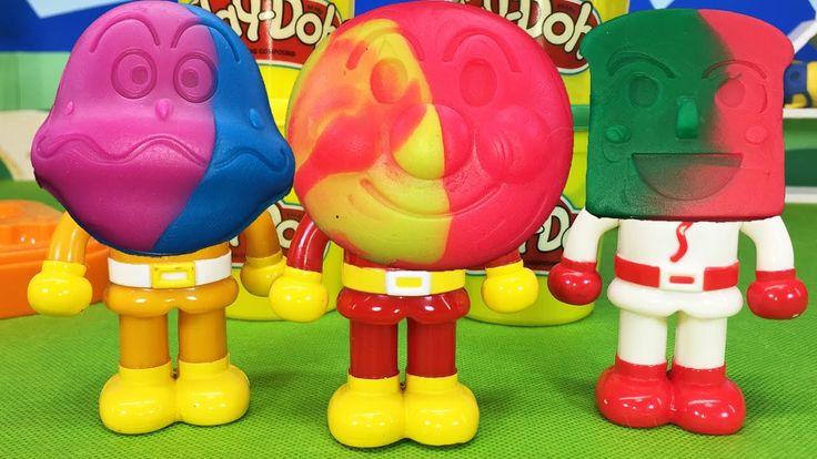 アンパンマン おもちゃアニメ 人気動画22まとめ♥連続再生 ぷっぷちゃん
