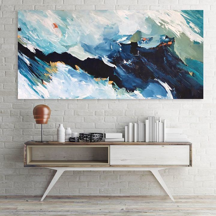 Hand Painted Large Original Painting Abstract Art