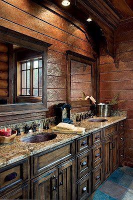 Western Bathroom: Inspiration | Stylish Western Home Decorating