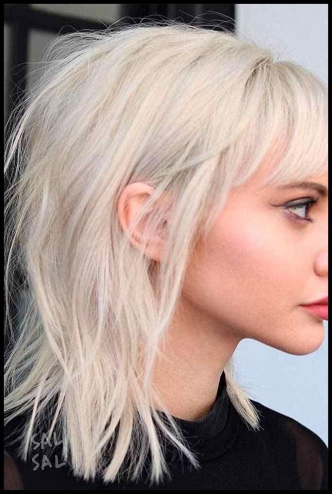 20 frische und unterhaltsame Ideen für mittelschichtige Frisuren | Pinterest … | Frisuren T…