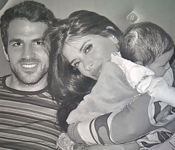 La romántica felicitación de cumpleaños de Cesc Fábregas a su novia, Daniella Semaan #futbolistas #barça
