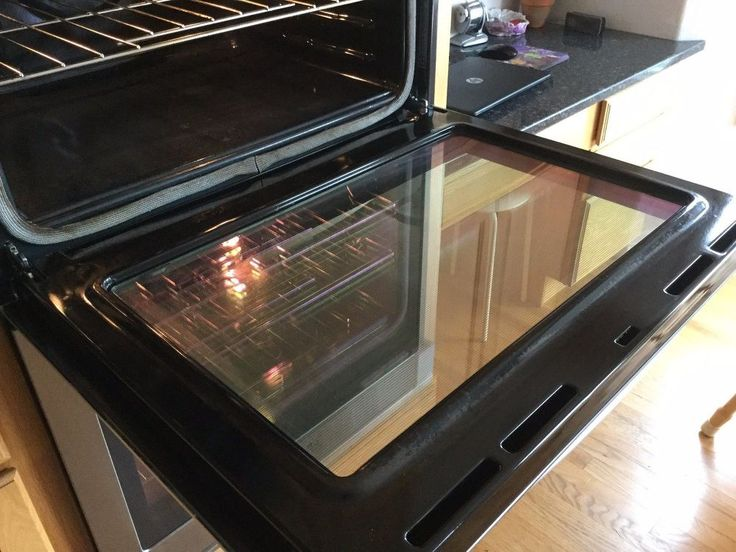 How to Make Your Oven Door SPARKLE