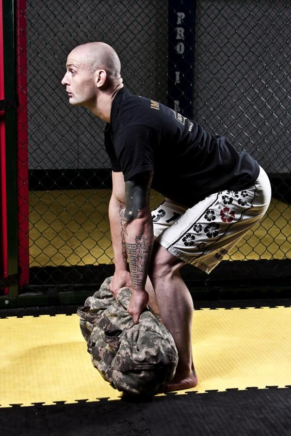 5 Week Sandbag Workout Program: Week 2 - Building Strength | Breaking Muscle