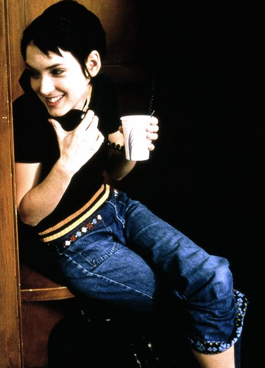 Winona Loves Me — filmchrist:  Winona Ryder on the set of Girl,...