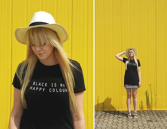 For Ingrid O. black is her happy colour with #Batashoes #shoes #blackandwhite