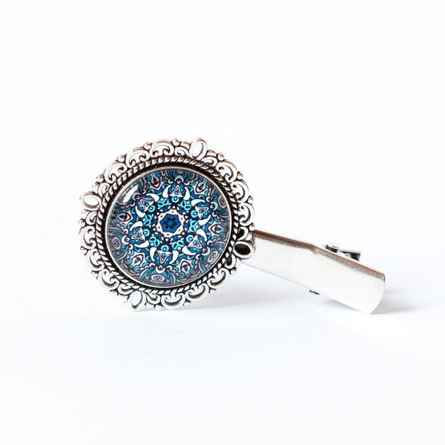 Spinka z mandalą / Mandala Hairpin- Art-Of-Nature