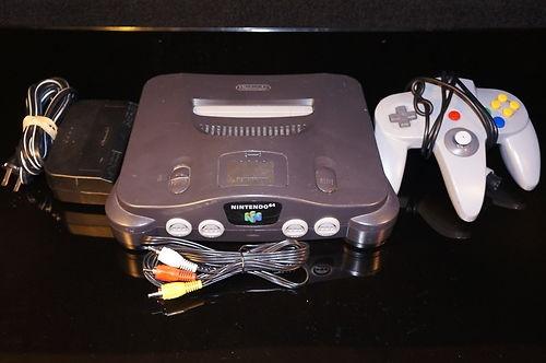 Nintendo 64 Smoke Grey Console 045496850012 | eBay
