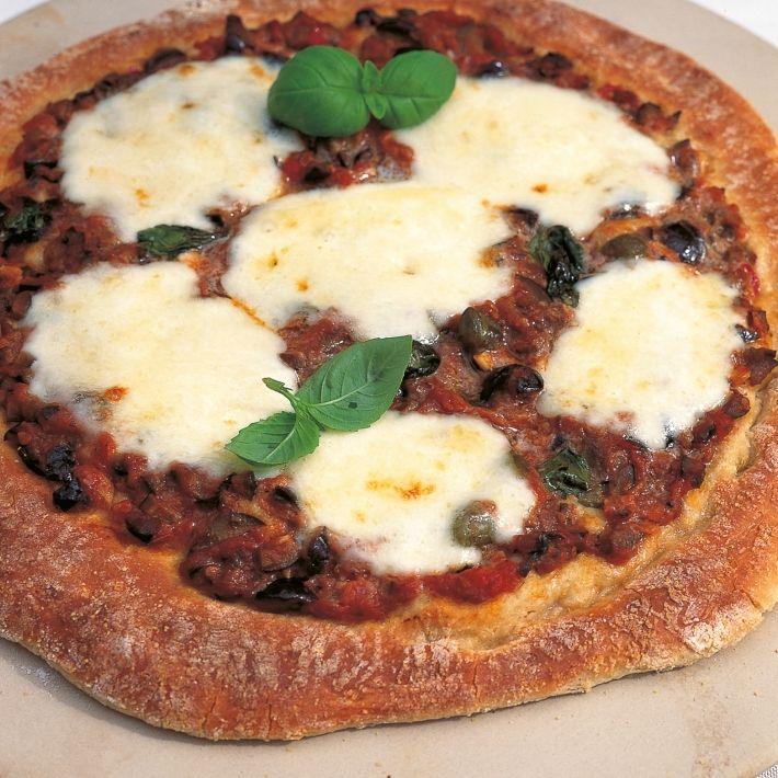Htc puttanseca pizza cooked version