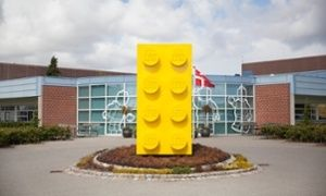 Picturew inside a lego factory