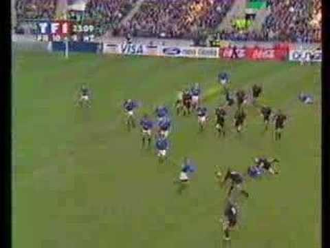 Match France/Nouvelle Zélande 1999