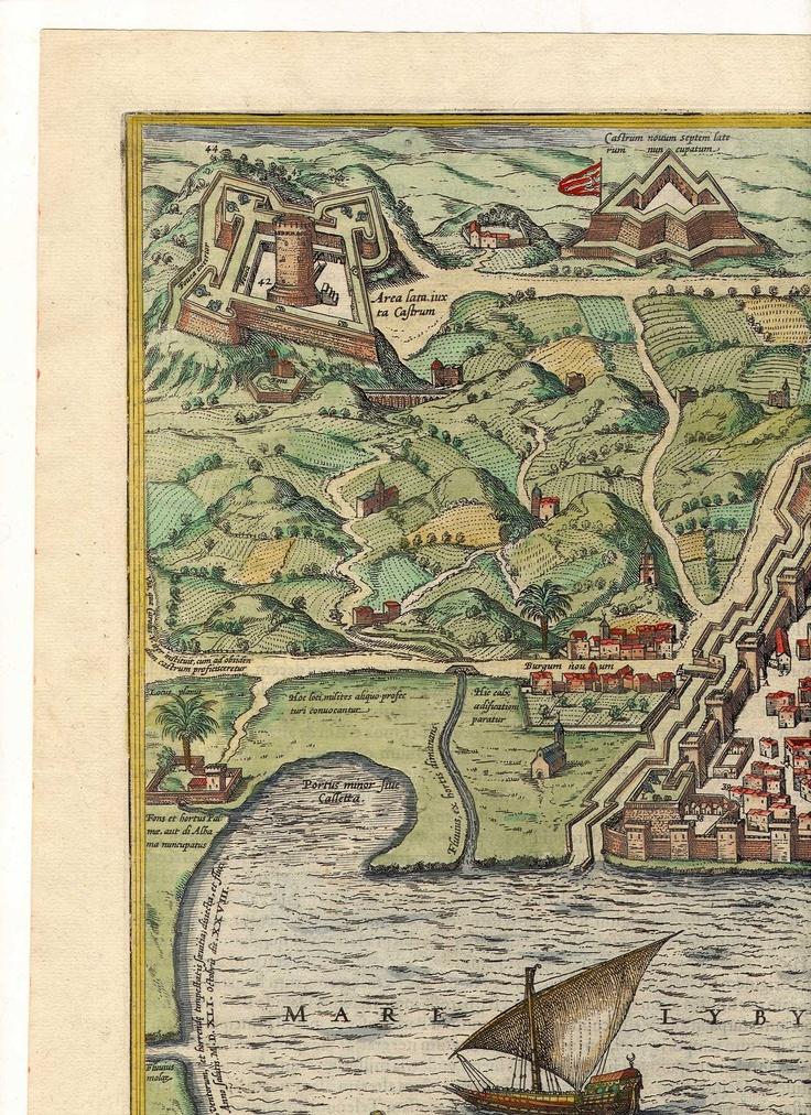 Braun u0026 Hogenberg Algiers 1574 Braun Hogenberg