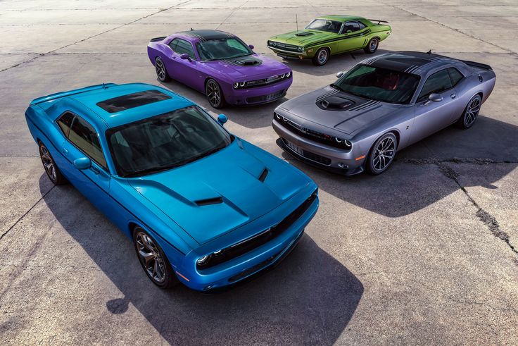 Dodge Brings Back Plum Crazy Exterior Color On 2016 Challenger And Charger