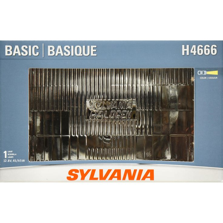 SYLVANIA H4666 Headlight 100x165 Automotive Bulb