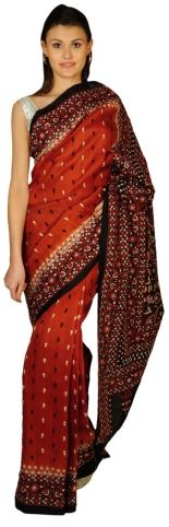 Buy Designer Saree Online by talkingthreads.in on Rs 3000