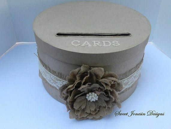 Rustic Wedding Card Box