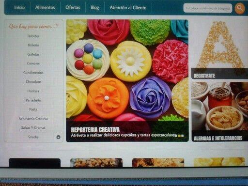 www.alerinto.com Joven empresa de emprendedores abre página web, para venta de alimentos destinados a personas con alergias e intolerancias alimentarias. www.alerinto.com Información en  info@alerinto.com Compartenos, entra, registrate, mira nuestras ofertas...COMPARTE Gracias