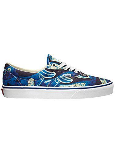 Vans Unisex Era Van Doren Blue Print Sneakers Low Top Skate Shoes 12 **  Check
