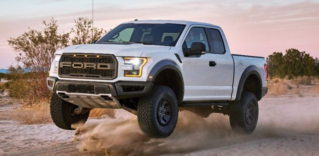 The 2017 Ford F-150 Raptor gets much of its off-road capability with help from…