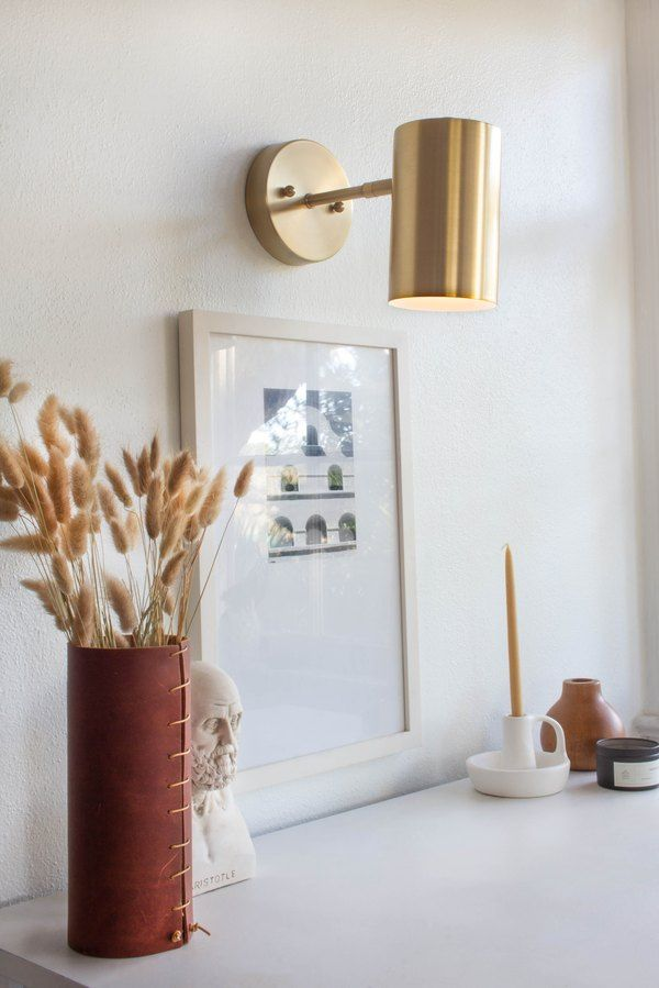 Genius Wall Sconce Hack No Electricity Required Hunker In 2020 Wall Sconces Bedroom Decorative Wall Sconces Diy Sconces