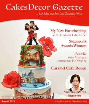 CakesDecor Gazette Issue 5.08 / August 2016