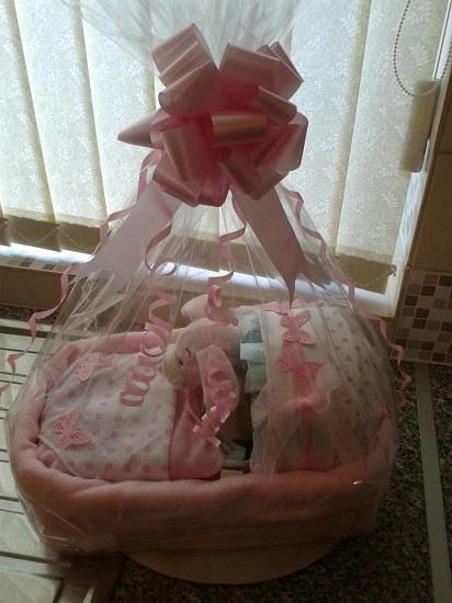 Bunny Cribcake by Unique Nappycakes & Gift Hampers