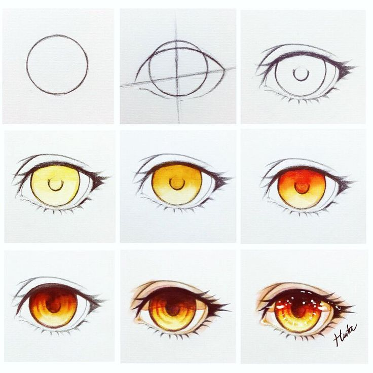 "11.5k Likes, 49 Comments - HutaChan (@hutachan96) on Instagram: ""Eye !!!   fire  #art #tutorial #stepbystep"""