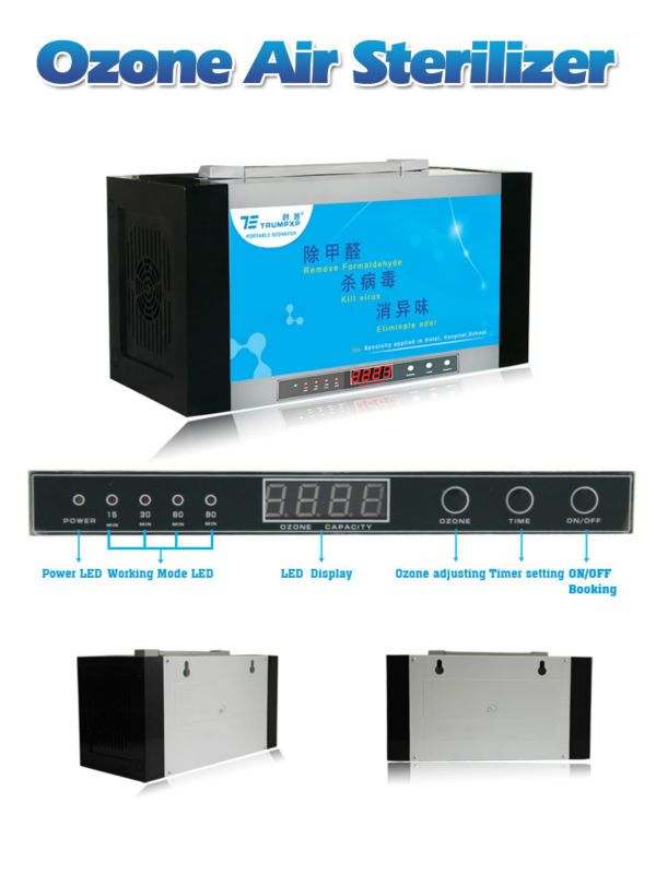 1pc 20W 0~1000mg/hr Air purification sterilization for office TCB-135 TRUMPXP 1g Timer Auto-working portable OZONE AIR PURIFIER //Price: $US $106.92 & FREE Shipping //     #cleaningappliances