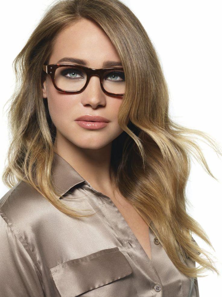 frisuren für dünne haare und brille lange blonde haare