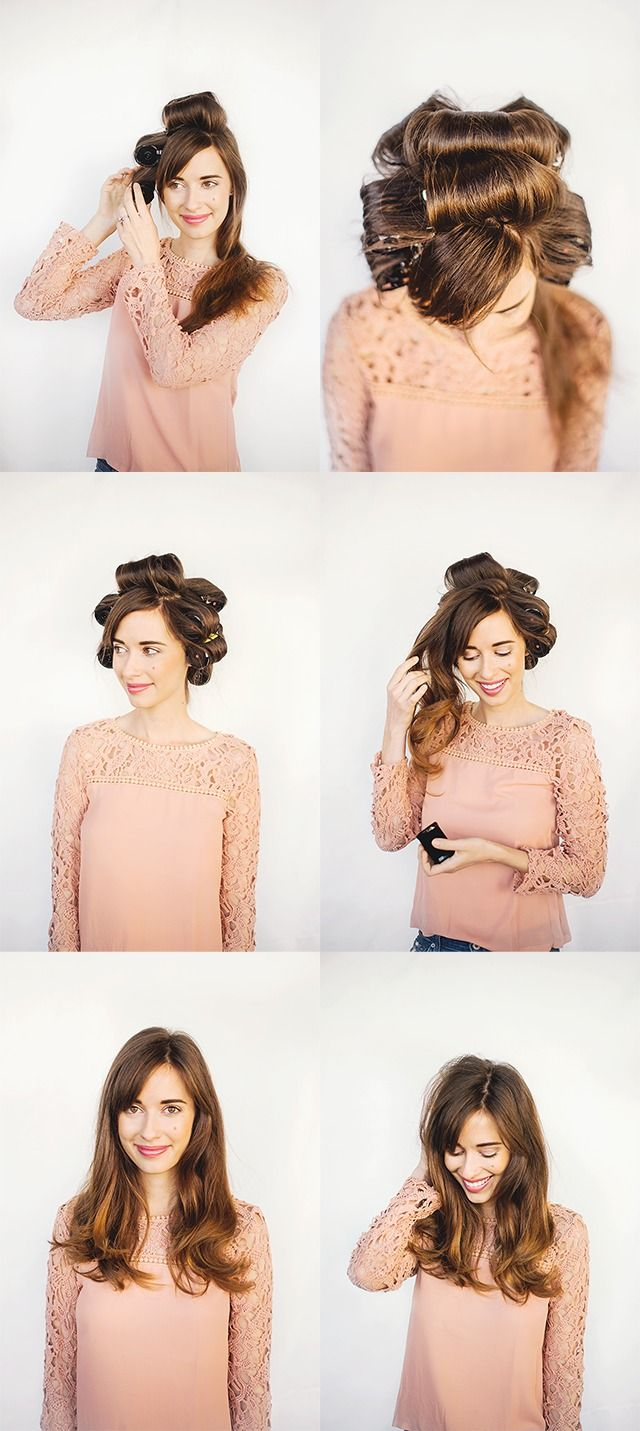 how to style your hair with rollers how to use rollers for hair rollers hair 8201