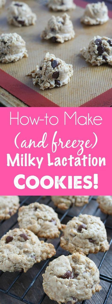Calling all nursing mamas! Looking for delicious chocolate lactation cookies? How to make (and freeze!) Milky Monster Lactation Cookies. This is one of my go-to lactation recipes ! via @DashOfEvans