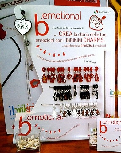I Birikini - KIT b.emotional 68 Pieces+135 Charms  Made in Italy Brand .. The BIRIKINI Made in Italy Collections also for WEDDING FAVORS http://secure.blomming.com/mm/ibirikinibrand/items  Info: ibirikinibrand@ibirikini.com