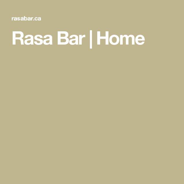 Rasa Bar   Home