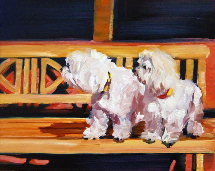 White Watch Dogs from Nancy Spielman