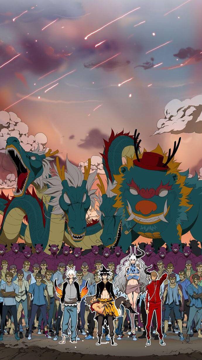 갓 오브 하이스쿨 God of High School webtoon Anime
