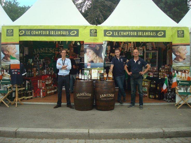 Le stand du comptoir irlandais au festival interceltique - Comptoir irlandais lorient ...